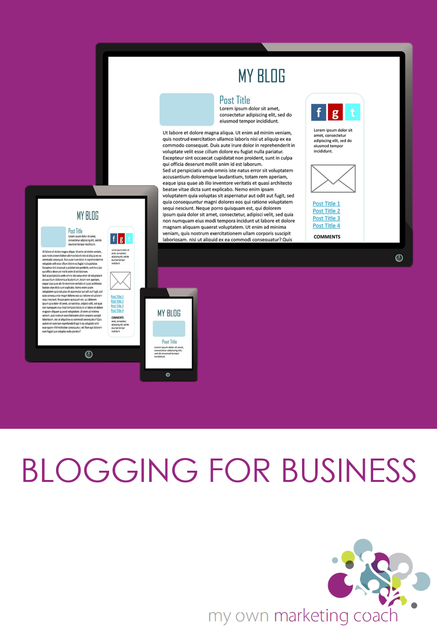 Blogging for Business course - Write in Danderyd