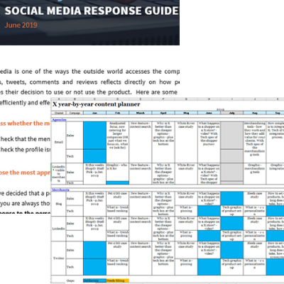 Social media response guide - Write in Danderyd